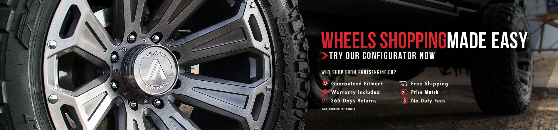 shop alloy wheels performance wheels truck wheels in canada